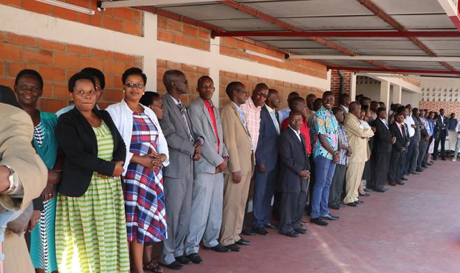 Vers la création des centres de professionnalisation des volontaires
